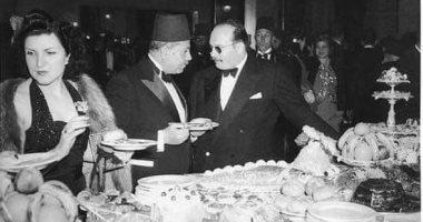 من ذاكرة التاريخ شاهد أبرز ضيوف الملك فاروق الأول فى حفل عيد ميلاده