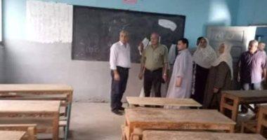 رئيس مدينة أشمون يعلن توفير 240 مقعدا جديدا بمدرسة الشهيد حماد بطليا
