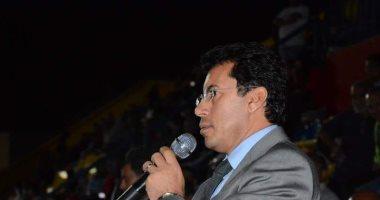 وزير الشباب والرياضة وأبوريدة يهنئان منتخب مصر للصالات بعد تتويجه ببرونزية أولمبياد الشباب