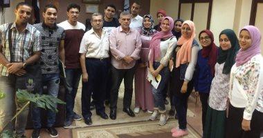 """وكيل """"شباب الغربية"""" يلتقى المرشحين لحضور النسخة الثانية من منتدى شباب العالم"""
