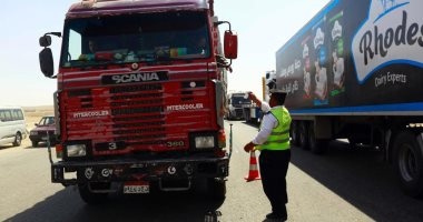 المرور يضبط 3540 مخالفة متنوعة بحملات على الطرق السريعة خلال 24 ساعة