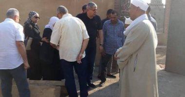 """صورة ..شوبير وزيزو وشطة في """"جنازة"""" حازم كرم"""