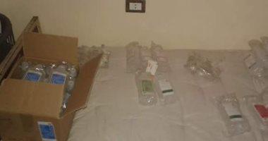 صور.. ضبط مركز غير مرخص لعلاج الإدمان بداخله أدوية مخدرة فى بنى سويف