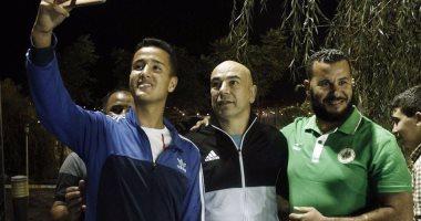 صور.. العميد يخطف الاضواء بالجزائر
