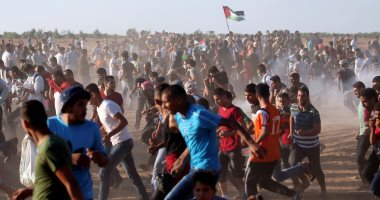 إصابة 10 فلسطينيين برصاص الاحتلال الإسرائيلى على الحدود الشرقية لقطاع غزة