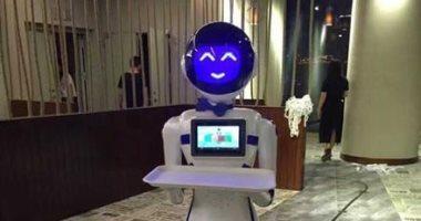 """""""روبوت"""" جديد لخدمة نزلاء الفنادق الصينية من """"على بابا"""""""