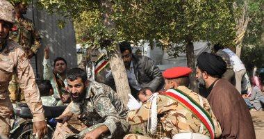 جنود إيرانيين لحظة الهجوم