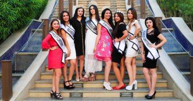 صور.. الجولة النيلية لملكات جمال العرب فى المنيل