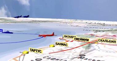 الطائرة الروسية فوق الأجواء السورية