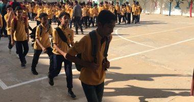 صور.. 110 ألاف طالب ينتظمون فى 591 مدرسة بشمال سيناء