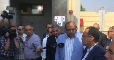 رئيس الوزراء يتفقد محطة صرف إسكندرية التحرير بأسيوط