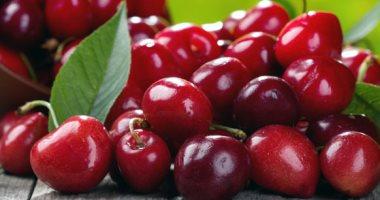 الكرز من الفواكه المفيدة ويمكن تناولها على الافطار