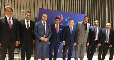 رئيس الدولى للجودو يستقبل وفد الاتحاد المصرى فى أذربيجان