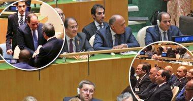 العامة للاستعلامات: السيسى أول رئيس مصرى يشارك ب6 دورات متتالية للأمم المتحدة