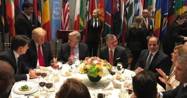مأدبة غداء بالأمم المتحدة