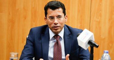 """وزير الشباب والرياضة فى نهائى الأهلى والترجي بـ """"رادس"""""""