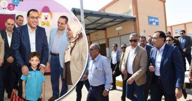 الدكتور مصطفي مدبولي رئيس الوزراء في جولة بمحافظة سوهاج