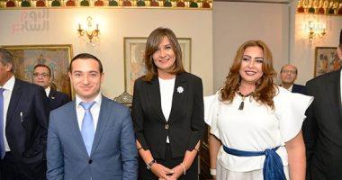 وزيرة الهجرة: المصريون الأرمن سيتبرعون بمليون جنيه للمستشفى الأميرى