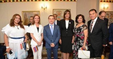 وزير شئون المغتربين الأرمينى: لن ننسى كرم الشعب المصرى حينما لجأنا إليه
