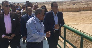 رئيس مجلس الوزراء يتفقد محطة مياه الشرب