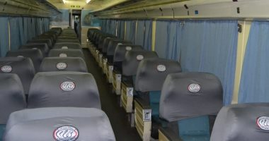 السكة الحديد تدفع بقطارات إضافية بمناسبة إجازة نصف العام الدراسى