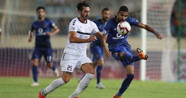 جانب من مباراة الاهلى والنجمة في البطولة العربية