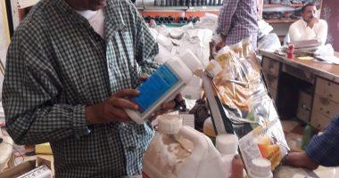 ضبط 2300 عبوة مبيدات زراعية محظورة تداولها بالأسواق خلال 30 يوما