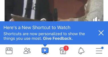 فيس بوك تنافس يوتيوب وتطلق زر Watch الجديد