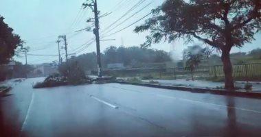 """الإعصار """"يوتو"""" يضرب شمال الفلبين"""