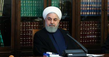 روحانى يعرب عن أمله بتعزيز العلاقات بين العراق وإيران