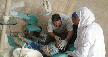 اجراء الكشف الطبى على 1503 شخص بمدينة بيلا خلال قافلة طبية بكفر الشيخ