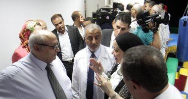 صور.. رئيس جامعة عين شمس يفتتح 4 وحدات جديدة بكلية الدراسات العليا للطفولة