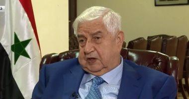وليد المعلم: قانون قيصر يستهدف تجويع السوريين لإعادة الإرهاب