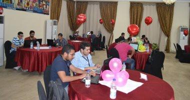 10 فرق تشارك بأول مسابقة فى أمن المعلومات بجامعة عين شمس
