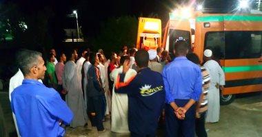 إصابة شخصين فى حادث تصادم بشبرا الخيمة