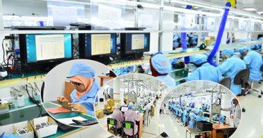"""فيديو وصور.. صنع فى أسيوط.. """"اليوم السابع"""" داخل مصنع """"سيكو"""" أول مصنع لإنتاج المحمول والتابلت بالشرق الأوسط وأفريقيا.. خلية نحل من 300 مهندس وفنى.. وفر 4 آلاف فرصة عمل.. ومدير المصنع: نعمل وفقا للمعايير العالمية"""