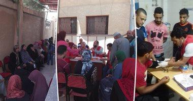 """فحص 4116 مواطنًا ضمن حملة """"100 مليون صحة"""" بشمال سيناء"""