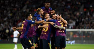 18 لاعبا فى قائمة برشلونة لمواجهة إشبيلية بالدوري الإسباني