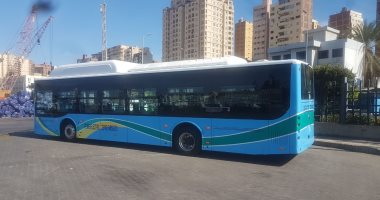 محافظ الإسكندرية: الأتوبيس الكهربائى طفرة غير مسبوقة لدعم منظومة النقل العام