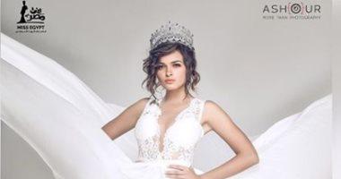 """بعد تتويجها بساعات.. أول جلسة تصوير لملكة جمال مصر """"ريم رأفت"""""""