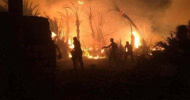 السيطرة على حريق بمصنع غزل ونسيج بالمحلة