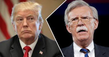 ترامب يعلن استقالة مستشار الأمن القومى جون بولتون