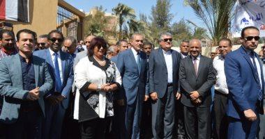 افتتاح قصر ثقافة الزعيم جمال عبد الناصر فى أسيوط بحضور إيناس عبد الدايم
