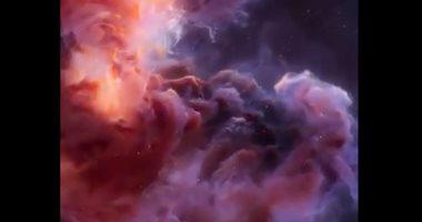 """شاهد.. كيف رصد العلماء """"السدم"""" أثناء تلألؤها بالسماء"""