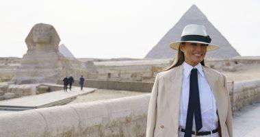ميلانيا ترامب تشكر مصر حسن استقبالها خلال زيارتها الرائعة للقاهرة