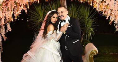 حفل زفاف المطرب دياب على عروسه هاجر الإبيارى
