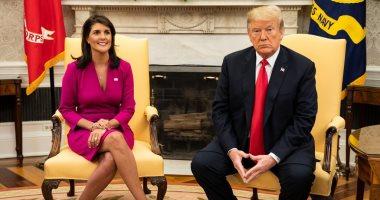 نيكى هيلى: أرفض إجراءات عزل الرئيس ترامب ولا أجدُ سببا مُقنعا لها