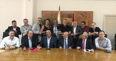 كيف ساهم راغب علامة فى حل أزمة نقابة المحترفين اللبنانين؟