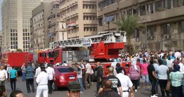 إنقاذ 34 شخصا من عقار بعد انهيار سلم فى السلام