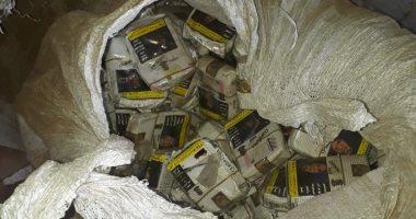 تجديد حبس شخصين ضبط بحوزتهما 10 آلاف علبة سجائر مهربة فى باب الشعرية